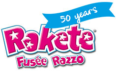 Rakete created for kids logo