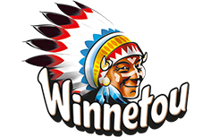 Winnetou created for kids logo